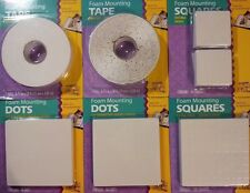 NEW Double-Sided Foam Mounting Tape (Acid Free!) - Scrapbooking, Craft, Project