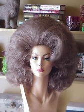 WOW EMPRESSBIANCA'S NEW YEAR  DRAQ QUEEN WIGBIG BUBBLE PAGE LIGHT BROWN SHOWN