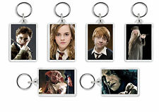 Harry Potter Keyring / Bag Tag - Choose from 19 Images! *Great Gift!*