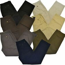 Tommy Hilfiger Chinos Mens Pants Classic Fit  Khaki Flat Front Chino New Nwt Th