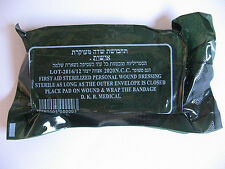 1-5-10-20pcs Israeli Army Field Bandage Sterile Combat Wound Dressing First Aid
