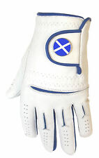 Mens Cabretta Leather Golf Glove + St Andrews Magnetic Ball Marker