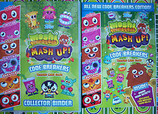 moshi monsters series 3 code breakers base and micro text cards 2
