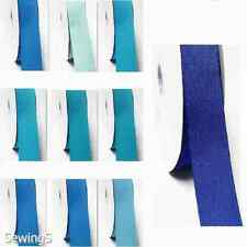 "Grosgrain Ribbon 3/4"" /19mm Wide 100 Yards, Discount ,Lot BLue s #303 to #350"