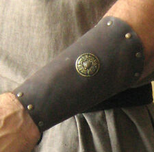 Medieval Armor Barbarian Bracers Small Deluxe