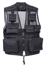 VEST RECON TACTICAL BLACK ROTHCO 6484