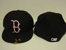 NEW Boston Red Sox NEW ERA Big Bevel 59FIFTY Baseball Fitted Hat Cap