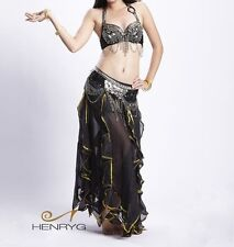 HenryG® Dance Belly Dance Costume 2 Pics Set of Bra & Belt, HGB-BL738