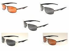 X Loop Polarized Real Metal Frames - Stylish Look - Lightweight - Brand New - P1
