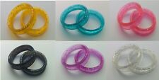 Finger Ring Inserts for Hairdressing Scissors and Dog grooming Shears 7 Colors