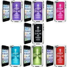 Apple iPod Touch 4th Generation Case Keep Calm and Trust God