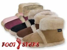LADIES COOLERS FURRY ANKLE BOOT SLIPPERS 3 4 5 6 7 8