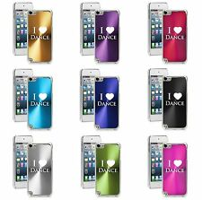 Apple iPod Touch 5th 6th Generation Hard Case Cover I Love Dance