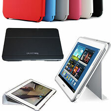 SAMSUNG GALAXY NOTE 10.1 N8000 MAGNETIC BOOK COVER CASE HARD SHELL SLIM STAND