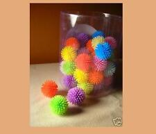 PORCUPINE BALLS CAT TOYS - Lots 5/10 Colorful Soft Plastic Ball Roll Quiet Play