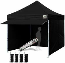Easy POP Up Canopy 10x10 Commercial Easy POP UP Tent + 4 Walls+Dust Cover+awning