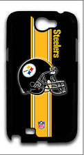 NFL Football Pittsburgh Steelers Samsung Galaxy Note 2 Hard Plastic Case E150817