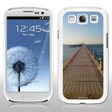 Samsung Galaxy S3 - Cayman Islands - Boat at Dock - Black/White Hard Case