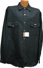 Dickies  Long Sleeve   Navy Blue Duck  Two Pocket with Flaps Work Shirt   NVY