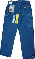 Dickies 1993SNB  Relaxed Fit Carpenter Jeans  Medium Stone Washed   W 30 to W 48