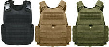 plate carrier vest molle tactical various colors adjustable rothco 8922 8923/24
