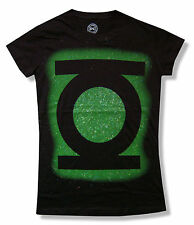 "GREEN LANTERN ""GLITTER LANTERN"" GIRLS JUNIORS T SHIRT DC COMICS NEW OFFICIAL"