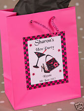 Personalised Party Bags. Hen Party, Birthday Party