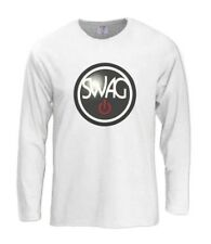 SWAG ON Long Sleeve T-Shirt YOLO Dope 420 Comme Des FuckDown DJ Jersey Diamond