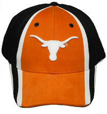 New! University of Texas Longhorns Velcro Back Hat 3D Embroidered Cap