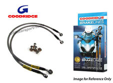 Goodridge Suzuki GSXR1100L 90 Rear Braided Brake Line Hose Stainless Steel
