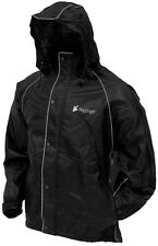 """FROGG TOGGS FROG TOG CLASSIC 50 """"TEKK TOAD"""" REFLECTIVE RAIN SUIT GEAR -MOTORCYCL"""