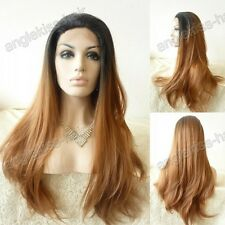 """18""""-28"""" Synthetic Lace Front Wig new women's Front Lace Full wig T1"""