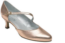 Freed Venus Ladies Dance Shoes Black Gold Silver Peach sizes 3,4,5,6,7,8 + 1/2's