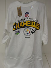NEW Mens Super Bowl XLIII Champions Pittsburgh STEELERS NFL Football T-Shirt