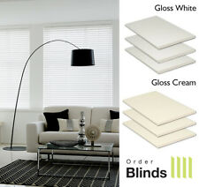 Gloss Wooden Venetian Blinds - Fully Made To Measure Gloss Blinds From £29.00