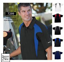 REEBOK GOLF NEW Men Size ColorBlock Dri Fit Polo Shirts Free Shipping