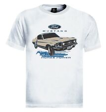 Ford Mustang T-Shirt 1967 Classic Car Horse Power Ride Pony Fashion
