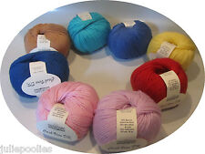 1 ball Cascade Yarns Cash Vero DK - 9 colors to choose from