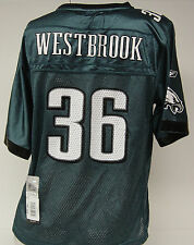 NEW YOUTH Girls REEBOK Philadelphia EAGLES Brian WESTBROOK #36 Football Jersey
