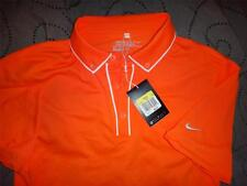 "NIKE GOLF ""DRI-FIT"" POLO SHIRT TIGER WOODS STYLE SMALL MEN NWT $65.00"