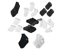 MEN'S NIKE PERFORMANCE SOCKS 6 PACK! PICK YOUR FAVORITE STYLE! FREE SHIPPING!