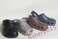 New Mens and Junior Foam Rubber Garden Outdoor Boating Clogs Sandals Shoes