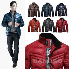 2014 Men's Winter Genuine duck feather Down wadded coat puffer Jacket casual