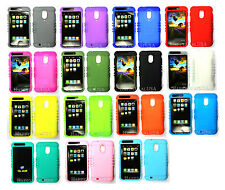 Part-1 KoolKase Silicone Rubber Case for Boost Mobile Samsung Galaxy s2 R760