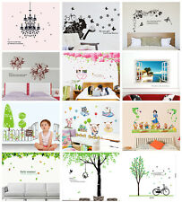 Large Size Vinyl Removable Home Room Decor Art Scenery Wall Stickers Decal Mural