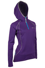 Breeze Hooded Womens Bike Fitness Running Sports Breathable Top Hoodie