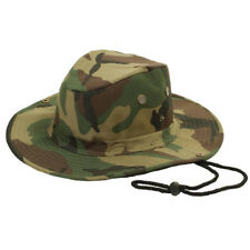 Boonie Fishing Hiking Boating Army Military Camo Bucket Outdoor Hat Sun Cap Mesh