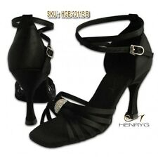 HENRYG Women Latin Salsa Dance Sandals, Women Ballroom Dance Shoes HGB-23115