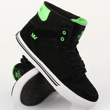 Supra Kids Vaider Black Soft Lime White