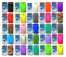 PART-1 KoolKase Rocker Silicone Soft Rubber Case for Samsung Galaxy S3 Multi-CL